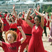 Kate Bush Day flash mob - Sheffield