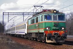 EP07-422 (Andrzej Szafoni) Tags: ep07 ep07422 pkp intercity railroad train electric poland polska 303e hcpcegielski