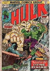 Incredible Hulk 183 (FranMoff) Tags: hulk comicbooks incredible marvelcomics zzzax livingdynamo