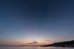 verstrahlter sonnenuntergang (dadiolli) Tags: trieste friuliveneziagiulia italien it sunset moloaudace triest italy sea meer