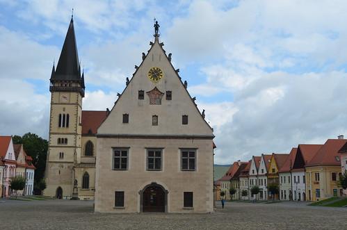 Bardejov's old square XV