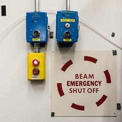 Beam Emergency Shut Off (a.k.a. Flash) Tags: physpics15 2015 slac photowalk physics there here switch labeling beam emergency shutoff