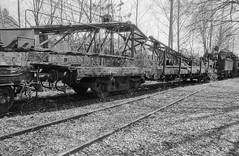Dampflokmuseum Hermeskeil (Ronald_H) Tags: dampflokmuseum hermeskeil railroad museum railway black white bw film nikon fm10 fima fomapan 400 diafine 2018
