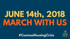 cuomo's housing crisis, 6/14/18 (hollow sidewalks) Tags: flyers nyc newyorkcity currentevents politics rally march bryantpark manhattan hollowsidewalks cuomoshousingcrisis