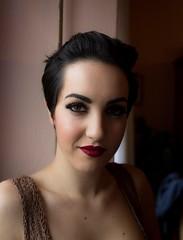 Darkened (diego_russo) Tags: diegorusso beautifulgirl mediterraneangirl brunette sexy glance