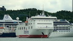 18 06 20 BF Connemara departing Ringaskiddy (11) (pghcork) Tags: brittanyferries connemara ferry carferry cork corkharbour cobh ringaskiddy 2018 ireland ships shipping ship