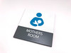 The Stow Company Signage Collection (2/90 Sign Systems) Tags: 290 sign signs signage systems wayfinding facility modular 290signsolutions klik stow blue mothers room nursing wall perpendicular mount elevator stairs