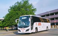 Cymru Coaches (Woolfie Hills) Tags: cymru coaches yn11 ayh volvo plaxton swansea