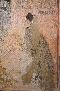 Nun Melane (Maria Palaiologina) at the Monastery of Chora