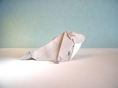 Walrus - Fernando Gilgado (Rui.Roda) Tags: origami papiroflexia papierfalten morsa walrus fernando gilgado ousa collection 2018