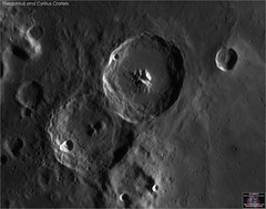 Theophilus and Cyrillus Craters – June 19, 2018 (The Dark Side Observatory) Tags: tomwildoner night sky space outerspace skywatcher telescope esprit 120mm apo refractor celestron cgemdx asi190mc zwo astronomy astronomer science canon crater moon lunar weatherly pennsylvania observatory darksideobservatory tdsobservatory solarsystem theophilus cyrillus june 2018