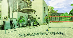 Summer Time (RyanTailor (Taking Clients)) Tags: summer outdoor gacha cosmopolitan event summerfest roiro serenity style thor dad secondspaces secondlife virtualworld mesh decor decorate decoration furniture acorn