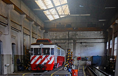 Serie 9300-automotora-Via estreita (filhodaCP) Tags: railcar automotora metergauge museuferroviário cp9300 comboiosdeportugal viaestreita cp narrowgauge allan
