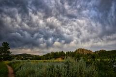 Parvin lake Trail (CTfotomagik) Tags: parvin lake red freather lakes colorado larimer county landscape nikon clouds storm drama ctfotomagik summer trail foothills sky greenscene