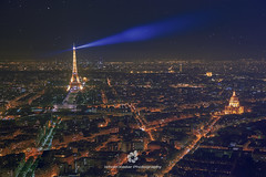Paris By Night (fesign) Tags: buildingexterior builtstructure capitalcities city citylife cityscape colourimage eiffeltower europe famousplace france frenchculture horizontal illuminated internationallandmark later lightingtechnique night nopeople outdoors parisfrance photography scenics standingoutfromthecrowd tourism tower travel traveldestinations