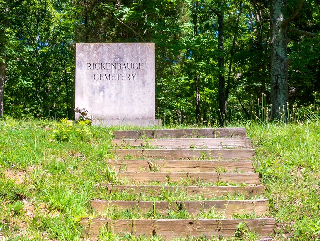Hoosier National Forest - Rickenbaugh House and Cemetery - July 7, 2018