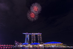 Singapore NDP Fireworks (oldhometown) Tags: fire anniversary festival explosion display color burst show night downtown ferris wheel singapore flyer marina bay sands southeast asia independence 2018 colorful fireworks modern travel tourism event day national celebrate building waterfront architecture landmark urban cityscape city skyline sky