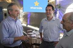 Inauguração da Laticínio StarMilk - Céu Azul