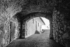 Corridor @ KongsvingerFortress (jonarnefoss2013) Tags: fujifilmxt2 xt2 blackandwhite fortress hedmark kongsvinger