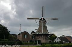 """De Hoop"", te Vorden (Fred / Canon 70D) Tags: canon canon70d canoneos vorden achterhoek gelderland molen windmolen windmill mill historicarchitecture erfgoed thenetherlands bw bwcirpolhtcmrcnanoxsprodigital72mmkäsemann käsemann efs1018mmf4556isstm dehoop"