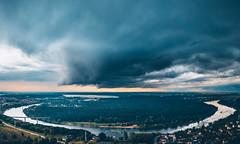 Storm clouds | Kaunas Aerial #193/365 (A. Aleksandravičius) Tags: storm dark panorama river nemunas park panemunė kaunas aerial summer europe lietuva lithuania dronas 2018 djieurope drone aerialphotography dji djimavicpro mavic pro mavicpro birdseye djiglobal 365days 3652018 365 project365 193365