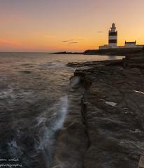hook head (1copperhead) Tags: hooklighthouse hookhead lighthouse cowexford ireland southeastireland sunset summer wavesandrocks