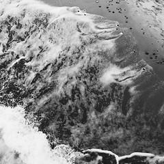 sea & sand I (Vivid Silence) Tags: sea balticsea ostsee heiligendamm meckpomm mecklenburgvorpommern sand winter bw monochrome blackandwhite beach