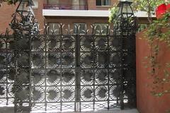 Wrought iron gate of Casa Vicens, Barcelona (*SHERWOOD*) Tags: spain barcelona casavicens antonigaudí