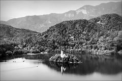 the alpine fairytale (bostankorkulugu) Tags: bled lakebled juliaalps alps slovenia island lake church water balkans europe thealps julianalps