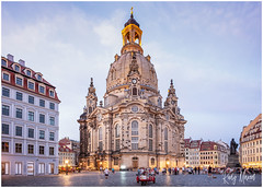 Postcard Greetings From Dresden (RudyMareelPhotography) Tags: dresden frauenkirche germany saxon saxony flickrclickx flickr ngc