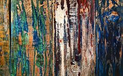 Lambenture (Junkstock) Tags: abstract abstraction california color distressed paint patina textures texture wood