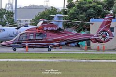 Private, Eurocopter EC155B1 Dauphin, G-CEOJ at SIG (Angel Moreno Photography) Tags: private eurocopterec155b1dauphin gceoj sig airport planespotter aircraft sanjuan puertorico helicopter runway