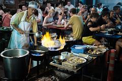 street kitchen (Alexander.Hüls) Tags: city bangkok street cooking classiccrome food people
