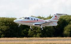N117EA (goweravig) Tags: n117ea eclipse eclipseaviation 500ea visiting aircraft swansea wales uk swanseaairport