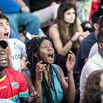 Fans de foot - Coupe du Monde 2018 - Durant le match Belgique - France thumbnail