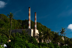 Tanguisson Power (CM Yee) Tags: tree sky tower building grass beach cliff rock landscape tropical guam