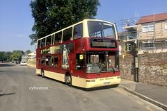 Go Ahead East Yorkshire 689, YX53AOP. (EYBusman) Tags: go ahead north east yorkshire bus coach motor services hull westgate bridlington old town plaxton president volvo b7tl yx53aop eybusman