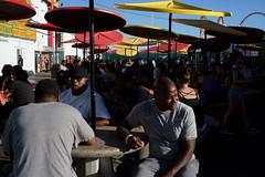Nathan's (dtanist) Tags: nyc newyork newyorkcity new york city sony a7 konica hexanon 40mm brooklyn coney island nathans restaurant hot dog