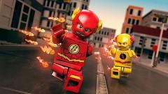 Flash (BrickVin) Tags: flash minifigure lego toy cartoon render reverse reverseflash 3d rendering photography legotown town legocity minifigs superheroes dccomics dcsuperheroes 3drenderlego city legoflash legoreverseflash