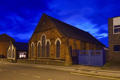St Jude, Eldon Street, Chuckery, Walsall 21/04/2018 (Gary S. Crutchley) Tags: walsall uk great britain england united kingdom urban town townscape walsallflickr walsallweb black country blackcountry staffordshire staffs west midlands westmidlands nikon d800 history heritage local night shot nightshot nightphoto nightphotograph image nightimage nightscape time after dark long exposure evening travel street slow shutter raw st judes church eldon free of