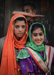 Niru, Gurez (shreyasharma3) Tags: canon 50mm eid kashmir india asia dards dardistan mountains wular kishanganga neelum valley children shina