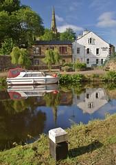 ...a pub launch!... (shushphoto) Tags: landscape water reflection calderdale pennines westyorkshire