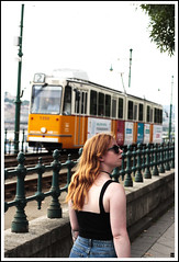 BUDAPEST (Fujissime) Tags: tramway budapest city ginger