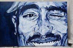 Tupac (HBA_JIJO) Tags: streetart urban graffiti art france hbajijo wall mur painting fresque peinture portrait music celebrity hiphop urbain musique paris77 rap songer rappeur