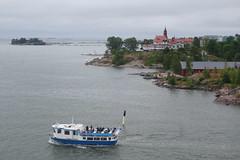 Lovely harbour views (koukat) Tags: views suomenlinna island viking line xpress express ferry helsinki tallinn deck vista fortress city boat cruise