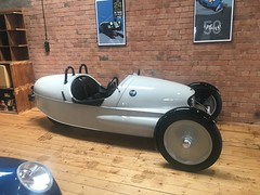 Morgan Factory - electric Three Wheeler