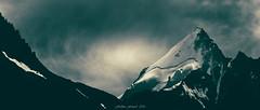 The Green Paradise Gate (Frédéric Fossard) Tags: sky mountain lanscape grain texture green vert monochrome lumière light abstrait surréaliste art sommet mountaintop alpes hautesavoie glaier dolent neige snow sérac rimaye nuage cloud cimes crêtes arêtes ombre contraste massifdumontblanc picdemontagne altitude hautemontagne pyramide