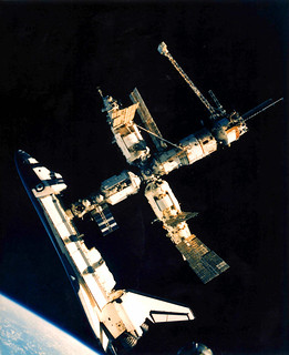 #TBT: STS-71 Docks with Mir – June 29, 1995