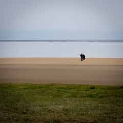 Walkers on the Sands (Nick Thorne, Bodian Photography) Tags: square geographicalfeatures england bynickthorne people morecambebay cumbria bybodianphotography walkers sands 2017 photographer flickr year themed estuary minimalist shape location walking