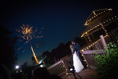 A&A (cookedphotos) Tags: 2018inpictures kettleby ontario canada ca wedding bride groom night fireworks love romance romantic 365project p3652018